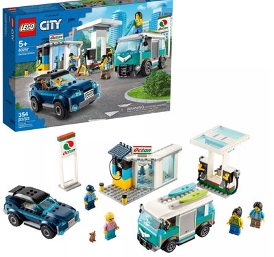 LEGO City Service Station Building Set