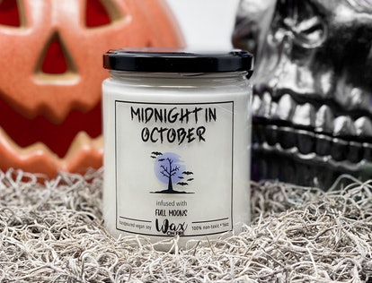 Midnight in October Halloween Candles