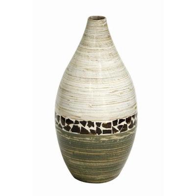 Spun Bamboo Vase