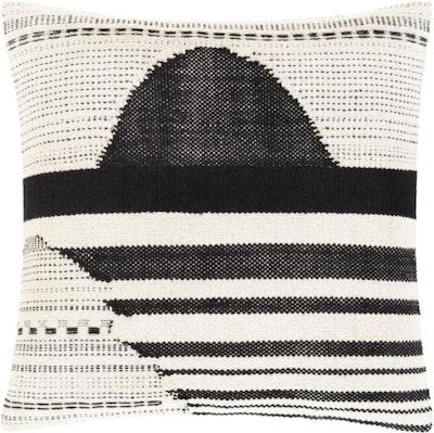 Banksia Black Pillow Cover