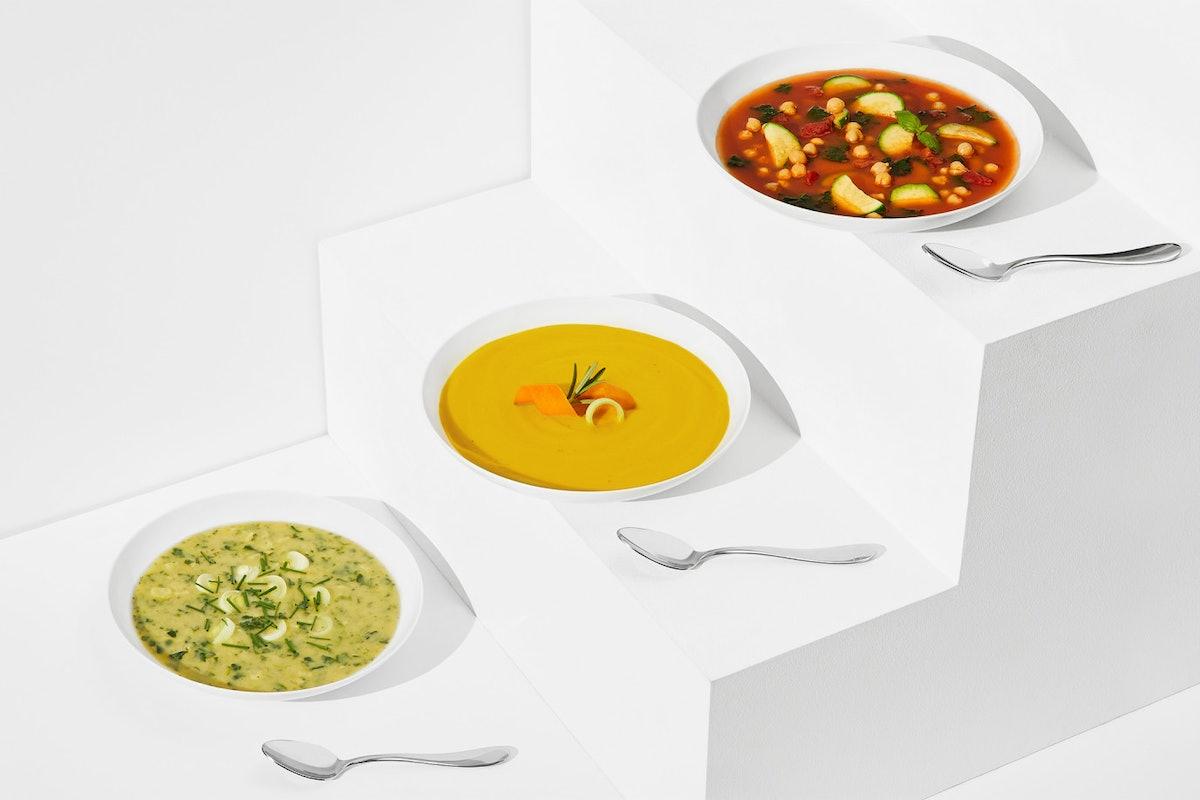 Healthy, Easy Frozen Vegetable Soup Mixes