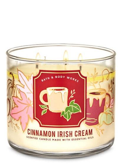 Cinnamon Irish Cream Three-Wick Candle