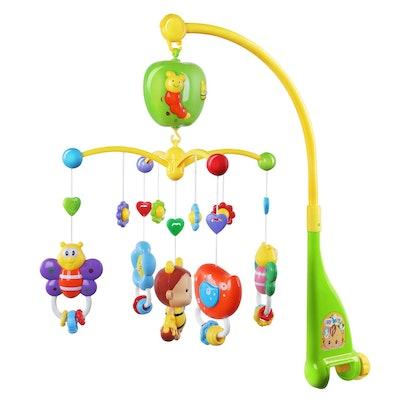 GrowthPic Musical Mobile Baby Crib Mobile