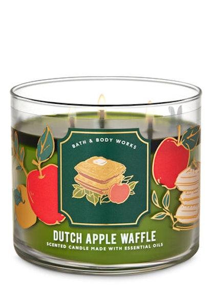 Dutch Apple Waffle Three-Wick Candle