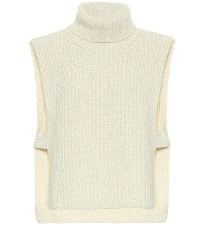 Tabard Cotton-Blend Vest
