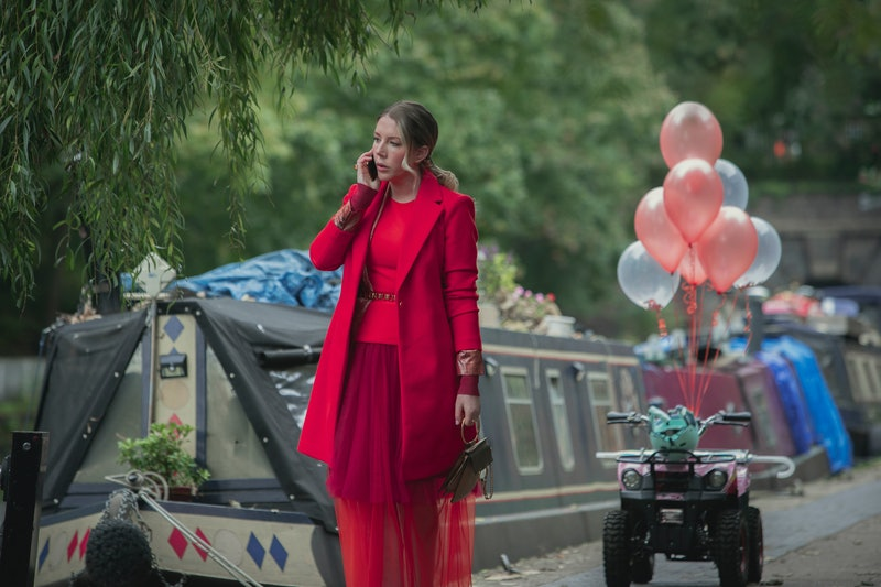 Katherine Ryan as Katherine in episode 1 of The Duchess on Netflix
