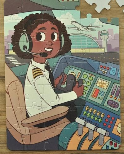 Future Flier 24-Piece Puzzle