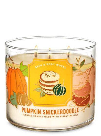 Pumpkin Snickerdoodle Three-Wick Candle