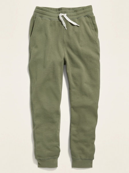 POPSUGAR x Old Navy French Terry Garment-Dyed Gender-Neutral Joggers in Olive Through This