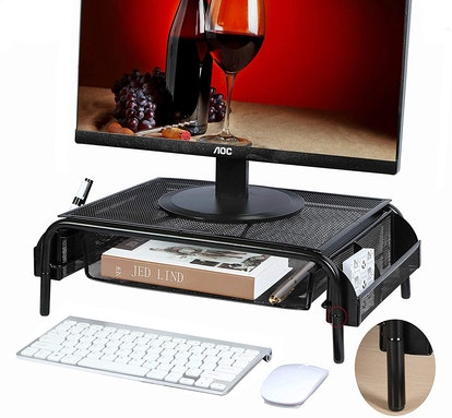 Beiz Monitor Riser with Drawer