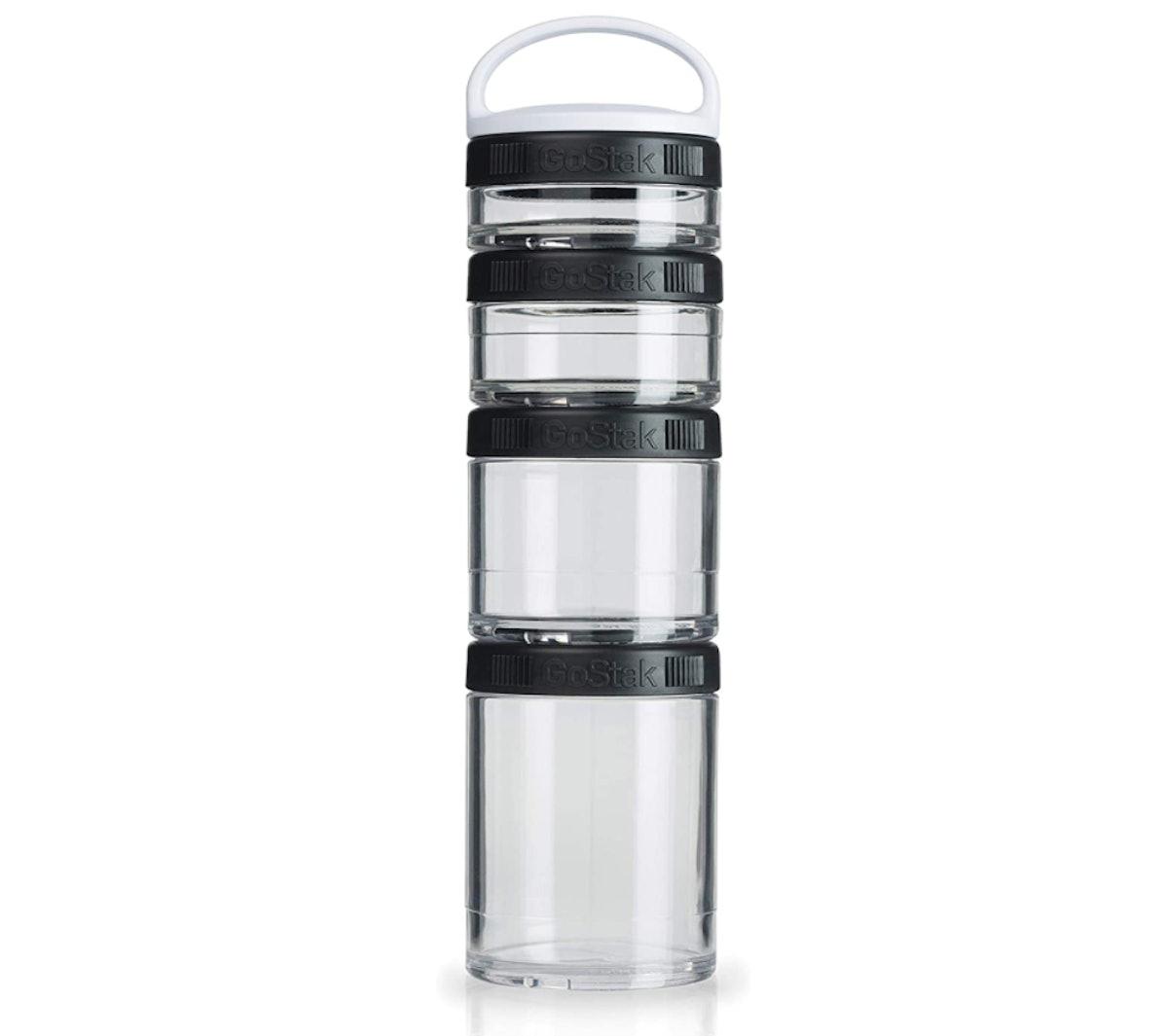 BlenderBottle Twist n' Lock Storage Jars (4-Pack)
