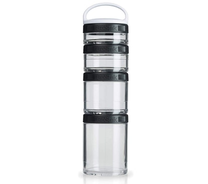 BlenderBottle Twist n' Lock Storage Jars (4-Pack)