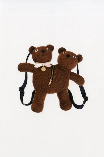 Double-Headed Teddy Backpack