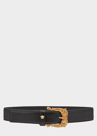 Baroque Leather Belt