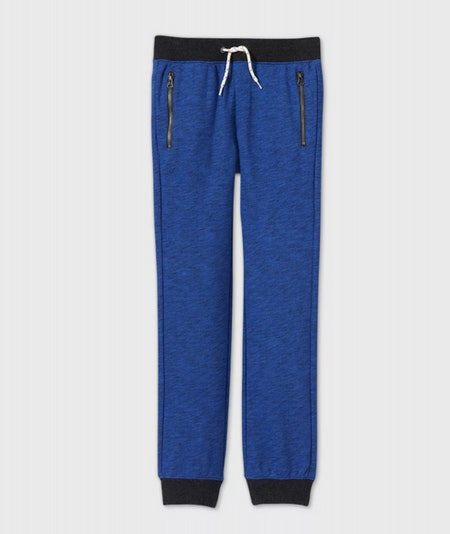Cat & Jack Boys' Cozy French Terry Knit Jogger Pants