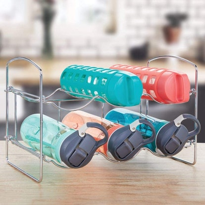 mDesign Water Bottle Organizer