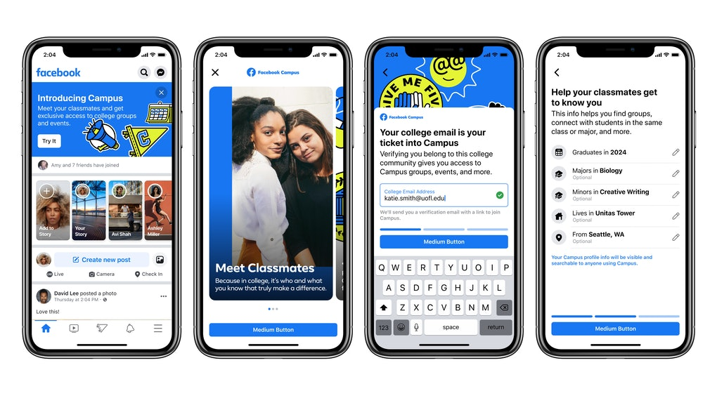 Here's how to join Facebook Campus to connect with other college students.