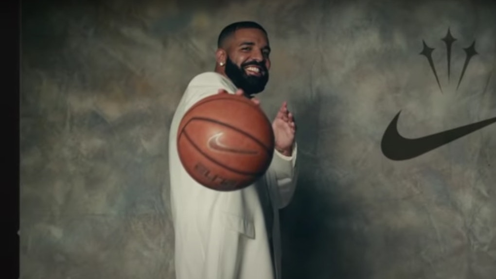 Drake appears in the music video for 'Laugh Now Cry Later'