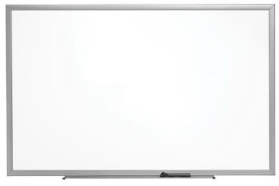 Staples Standard Durable Melamine Dry-Erase Whiteboard