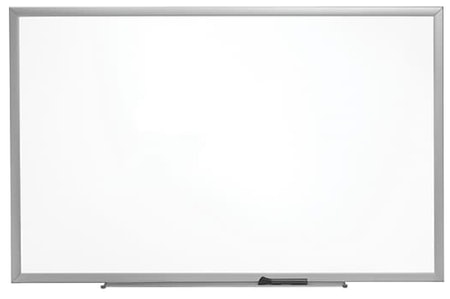Staples Standard Durable Melamine Dry-Erase Whiteboard