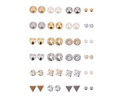 BBTO Stud Earring Set (24-Pack)