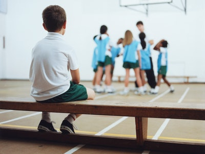child being left out / bullied at school