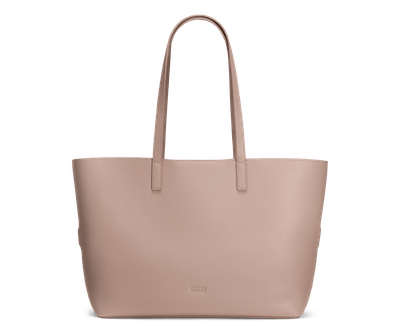 The Longitude Tote -- Buff Leather