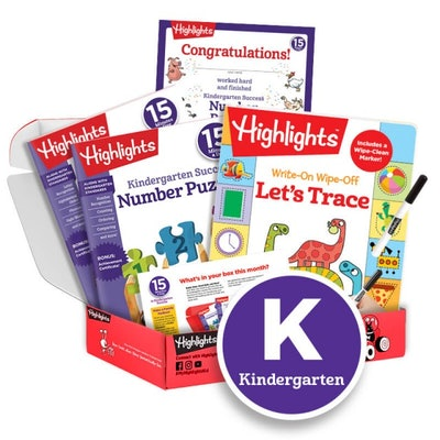 15 Minutes a Day to School Success Subscription Box: Grade K