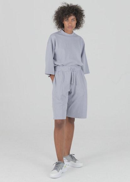 Lilac Boxy Shorts