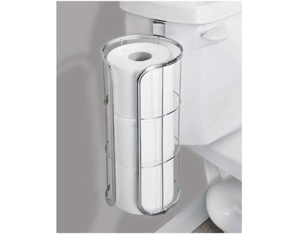mDesign Over The Tank Toilet Paper Holder