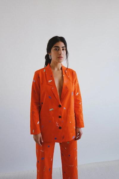 embroidered flo jacket