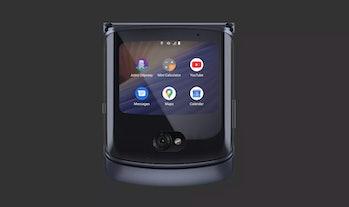 The front of the Motorola Razr.
