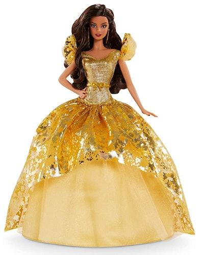 2020 Holiday Barbie - Brunette Hair