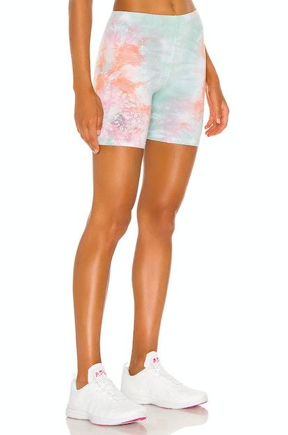 Sorbet Tie Dye Biker Shorts