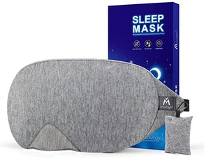 the Mavogel Store Cotton Sleep Eye Mask