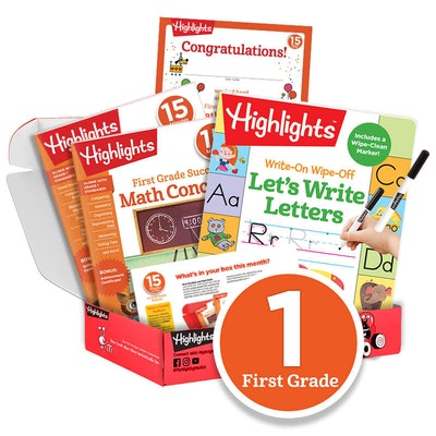 15 Minutes a Day to School Success Subscription Box: Grade 1