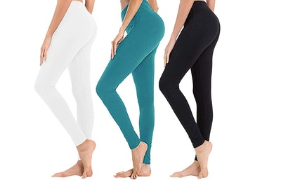 SYRINX High-Waisted Leggings (3-Pack)