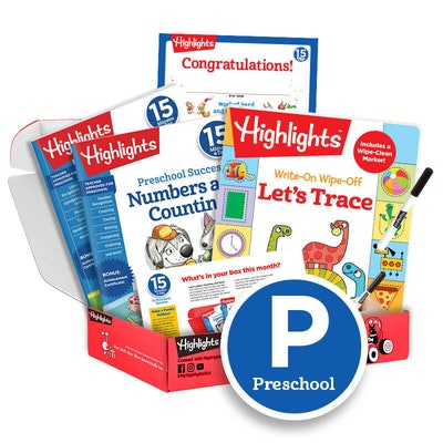 15 Minutes a Day to School Success Subscription Box: Grade Pre-K