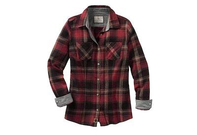 Legendary Whitetails Cottage Escape Flannel Shirt