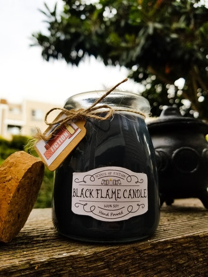 Black Flame Candle