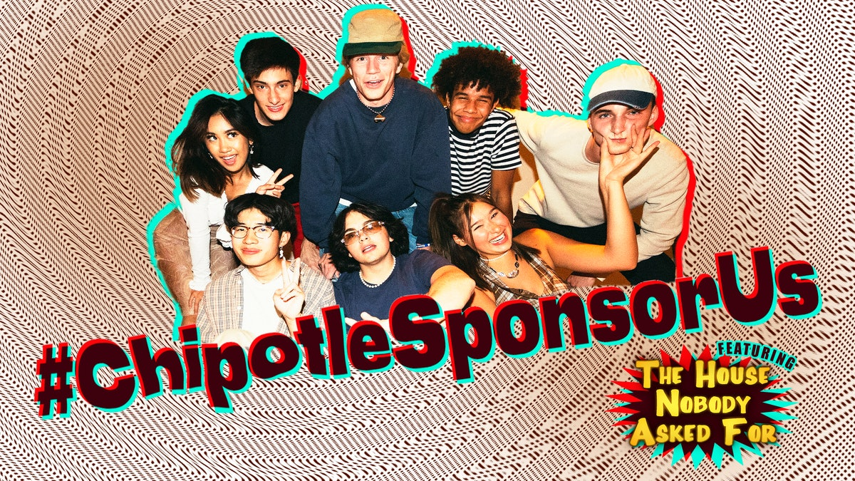 Submissions for the #ChipotleSponsorUs TikTok challenge will be judged by The House Nobody Asked For.