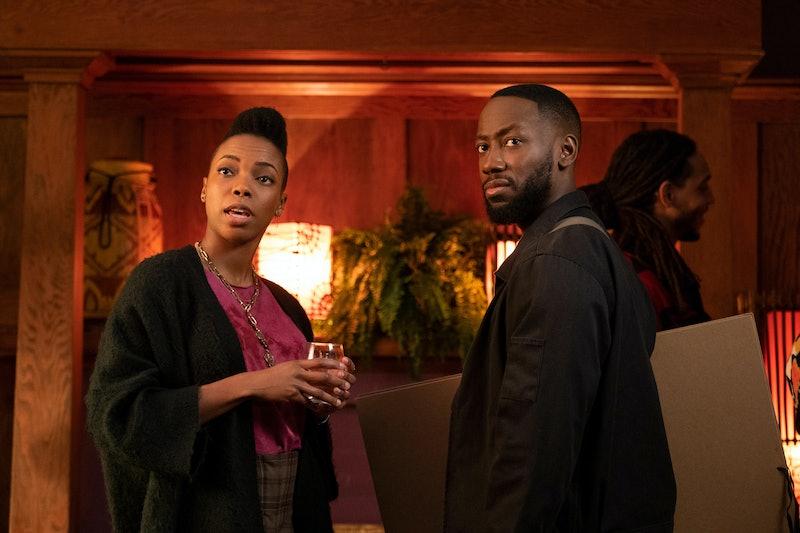 Sasheer Zamata (as Ayana) and Lamorne Morris (as Keef) in 'Woke' via Hulu's press site