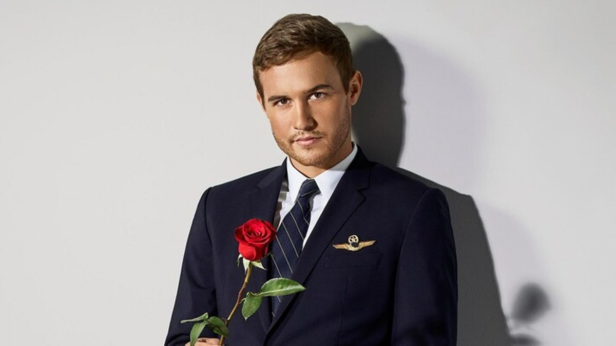 Peter Weber in Season 24 of The Bachelor.