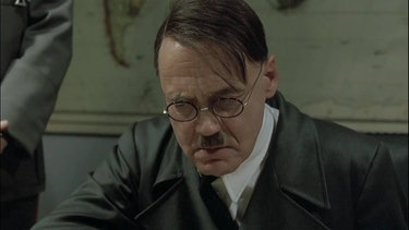 A still of Hitler from Downfall.