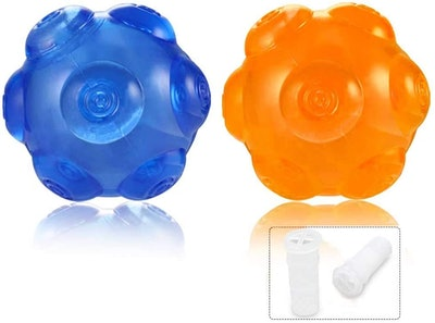 ACEONE Dog Squeaky Balls (2-Pack)