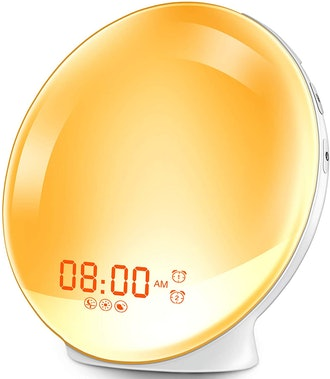 Hokeki Wake-Up Light Alarm Clock