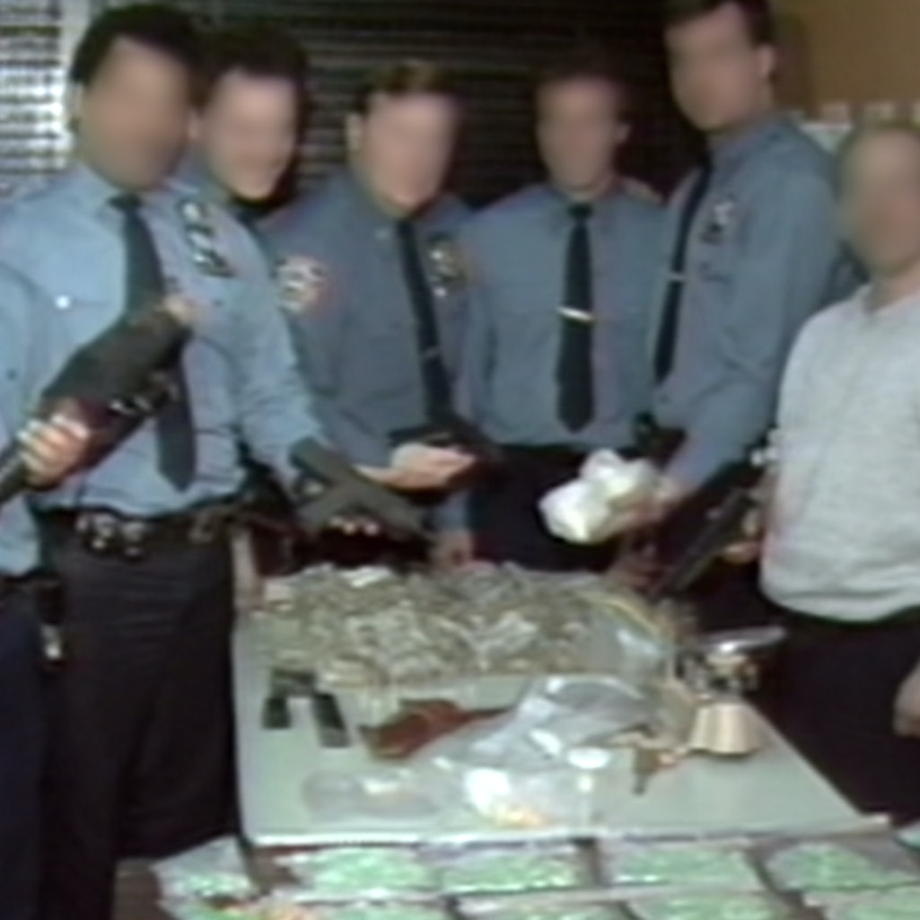 A still from 'CRACK: Cocaine, Corruption & Conspiracy,' via the Netflix press site.
