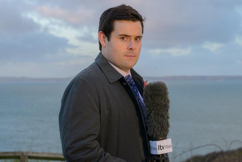 David Flynn as Jonathan Hill in ITV's 'The Pembrokeshire Murders'