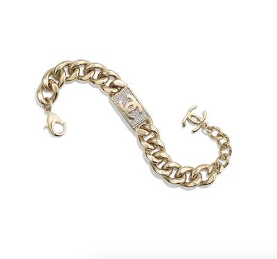Metal & Strass Bracelet