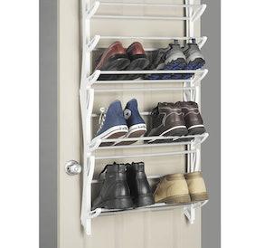 Whitmor Over-the-Door Shoe Rack